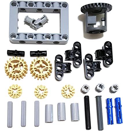 technic,car,truck,gear,universal,joint `Lego Compact Framed Differential Kit