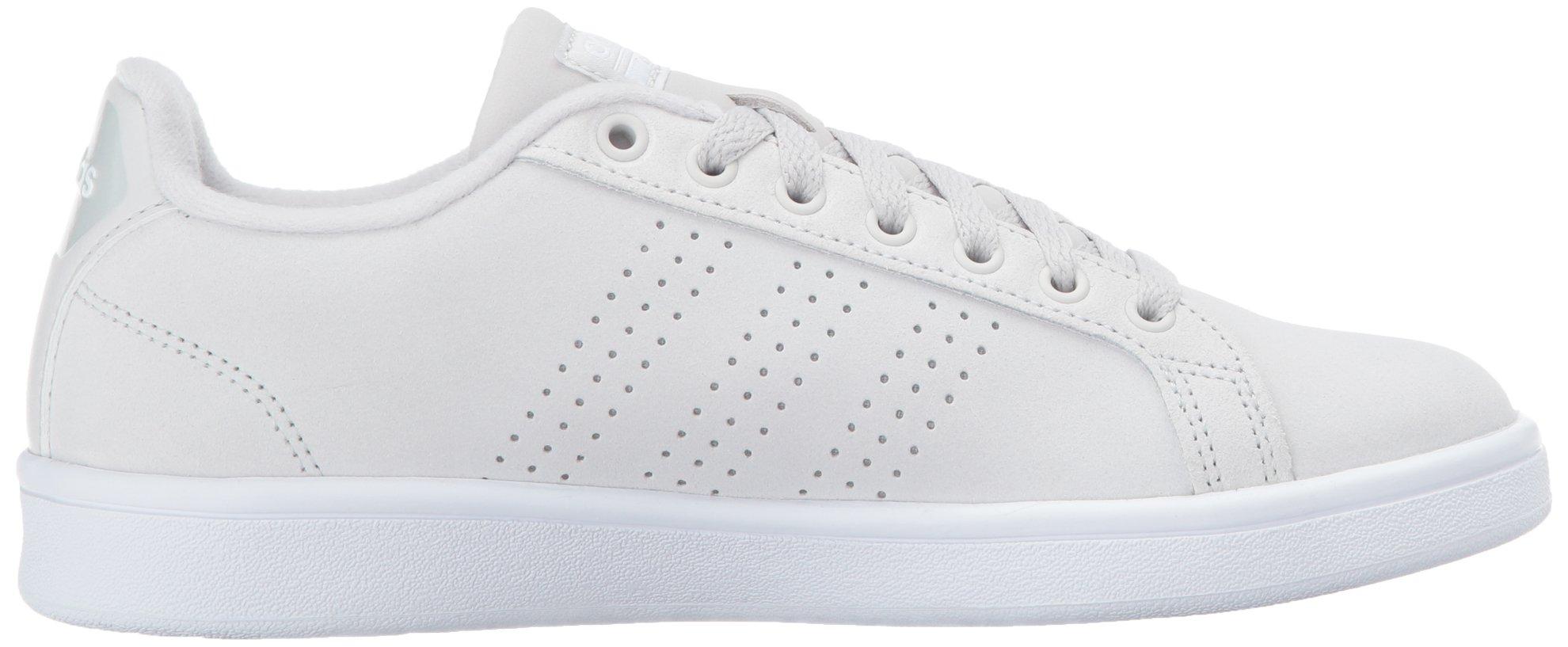 adidas donne di vantaggio cl w le scarpe da ginnastica, grigio / grigio / bianco