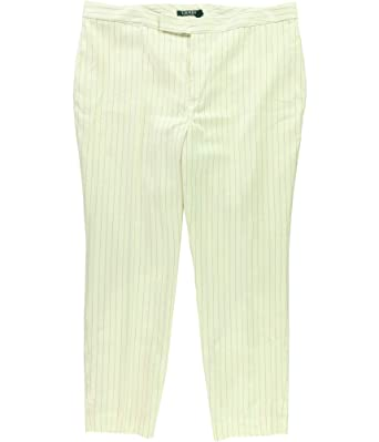 235561ccdad4 Ralph Lauren Womens Twill Casual Trousers at Amazon Women's Clothing store: