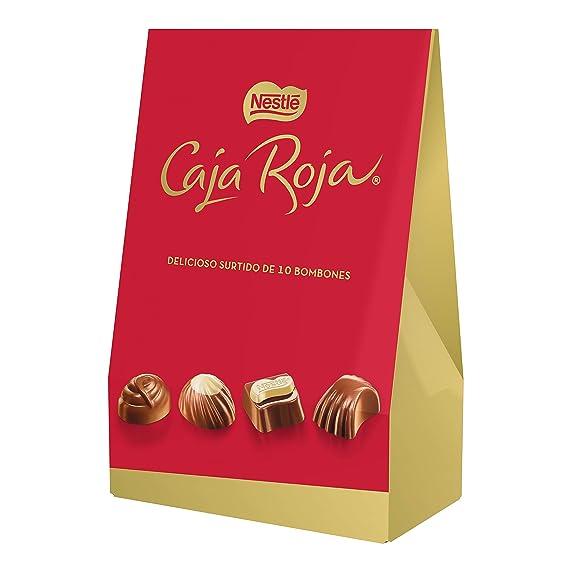 Nestlé Caja Roja Bombones de Chocolate - Bolsa de bombones ...