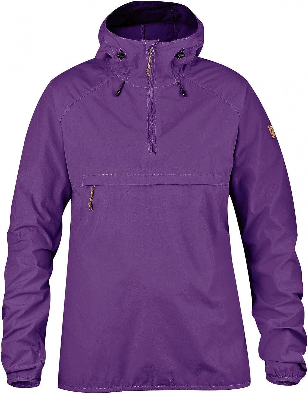 Womens FJ/ÄLLR/ÄVEN Greenland Women High Coast Wind Jacket W Soft Shell Jacket Purple High Coast Wind Anorak W