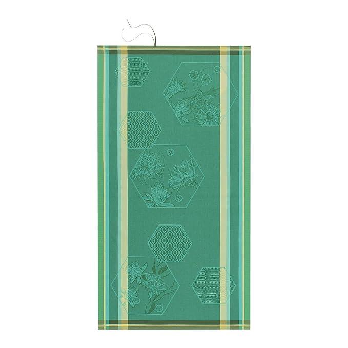 Le Jacquard Francais 22846 toalla de baño marquetería algodón gris fieltro 50 x 30 cm: Amazon.es: Hogar