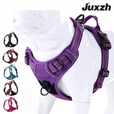 juxzh Truelove Soft Front Dog Harness .Best Reflective No Pull Harness