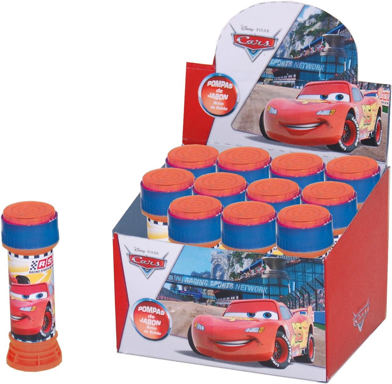 Verbetena Disney Cars, Pompas de Jabon, Pack 12 Pomperos: Amazon.es: Juguetes y juegos