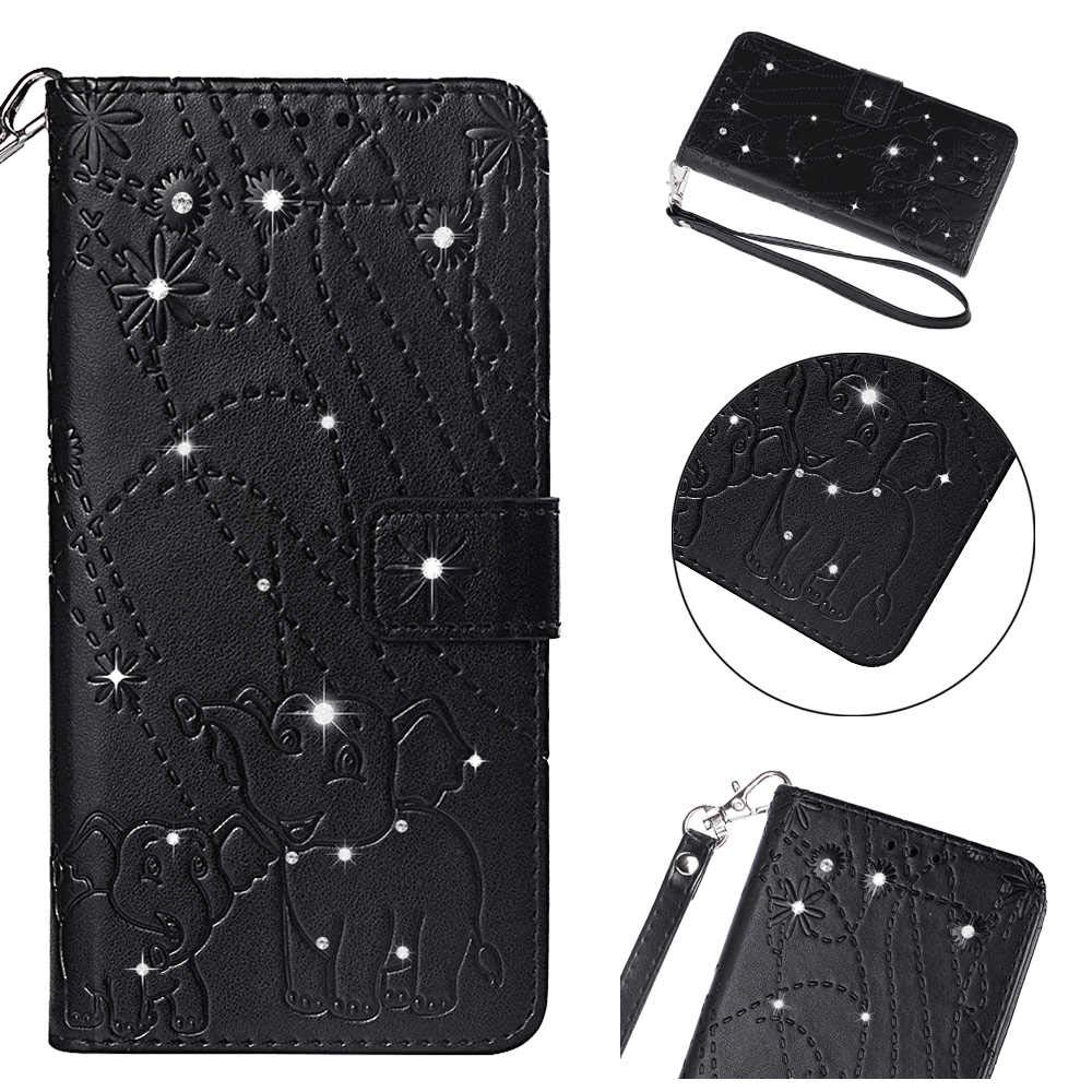 Gray Wallet Cover for Samsung Galaxy S9 Leather Flip Case Fit for Samsung Galaxy S9