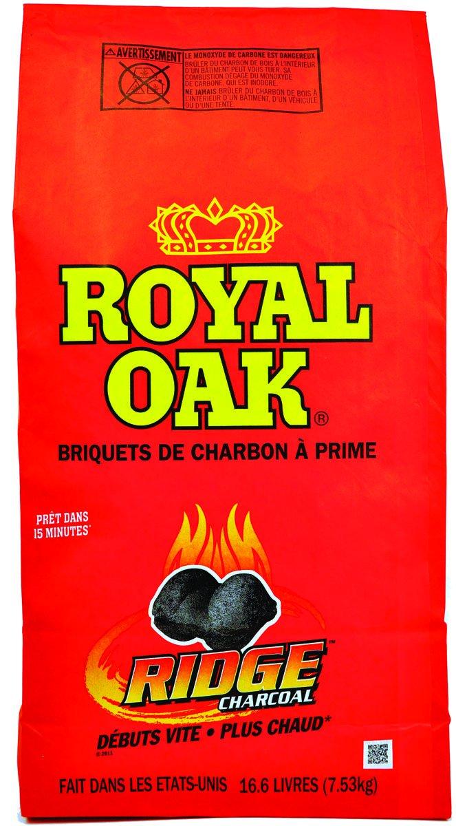 16.6lb Can Charcoal Briquets Royal Oak Sales