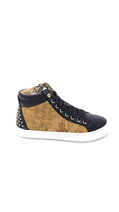 Sneakers for Women On Sale in Outlet, Leather Brown, Leather, 2017, 6.5 Alviero Martini 1A Classe