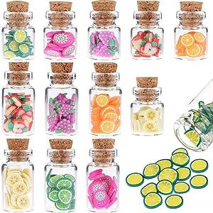 1:12 Cute Miniature Dollhouse Food Lollipops Jar Glass Bottle Toast Bread Donut Pretend Foods Play Resin Mini Food Kitchen Decoration 1:6 Lovely Mini Fruit Mold Simulation Scene Food Candy Snack Model