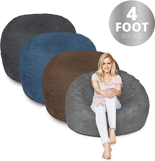 Amazon.com: Puf de 3 pies, 7 pies y 6 colores | Funda de ...