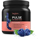 Legion Pulse Pre Workout Supplement - All Natural Nitric Oxide Preworkout Drink to Boost Energy & Endurance. Creatine Free, N