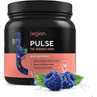 Legion Pulse Pre Workout Supplement - All Natural Nitric Oxide Preworkout Drink to Boost Energy & Endurance. Creatine…