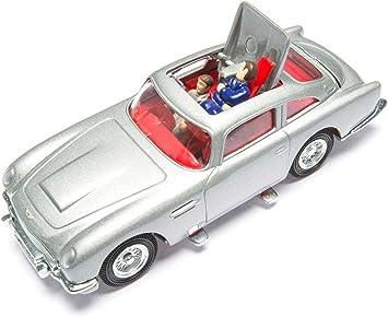 Corgi Cc04204s James Bond Aston Martin Db5 Silver Goldfinger Amazon De Spielzeug