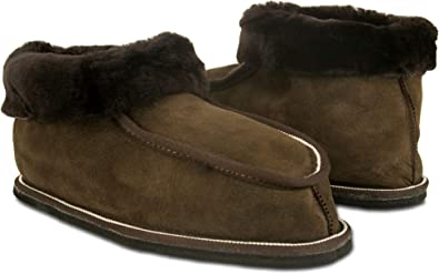 Zerimar Zapatillas Invierno Casa | Pantuflas de Casa Cuero | Zapatillas Casa Piel Double Face | Pantuflas Invierno | Zapatillas de Casa Hombre y Mujer: Amazon.es: Zapatos y complementos