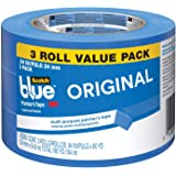 ScotchBlue ORIGINAL Painter's Tape, Multi-Use, 0.94-Inch by 60-Yards, Value Pack, 3 Rolls
