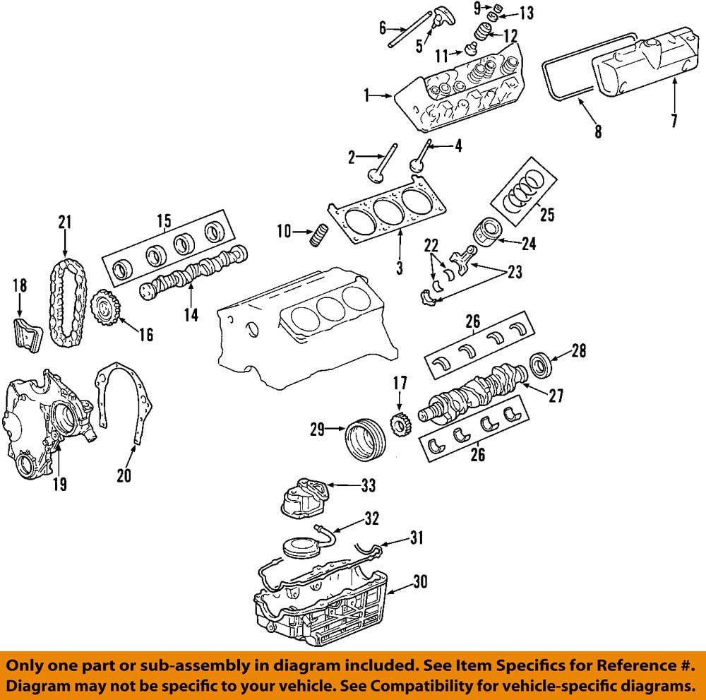 General Motors 12602848 Engine Oil Pan Gasket