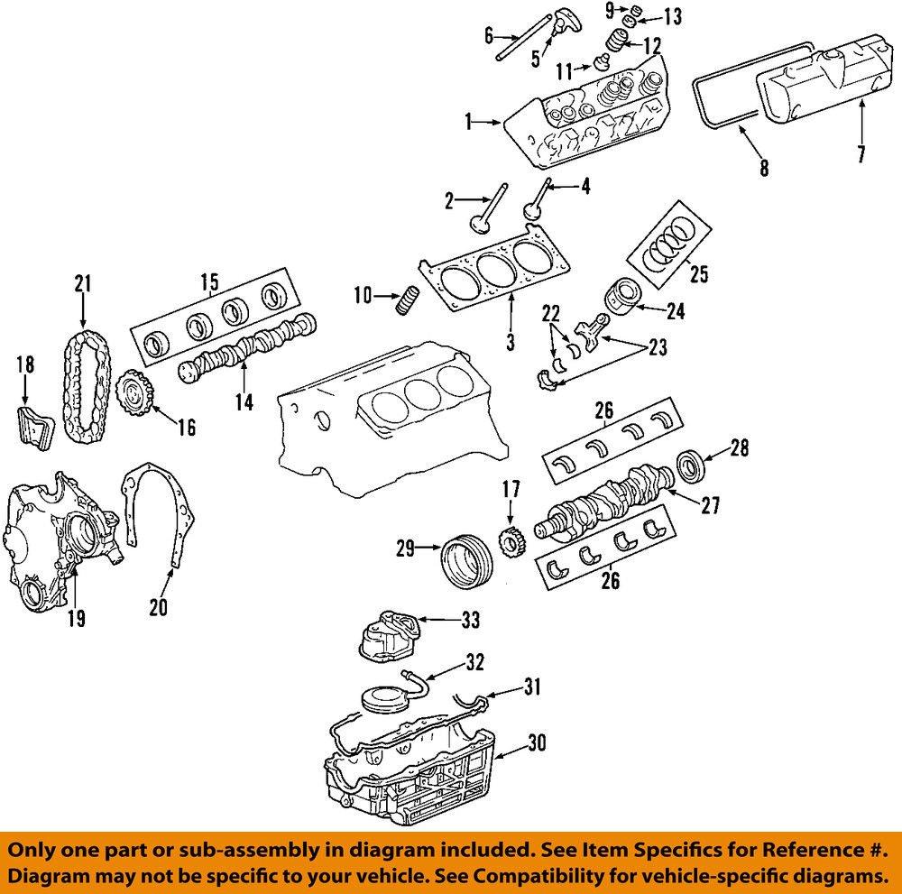 General Motors 12602848, Engine Oil Pan Gasket