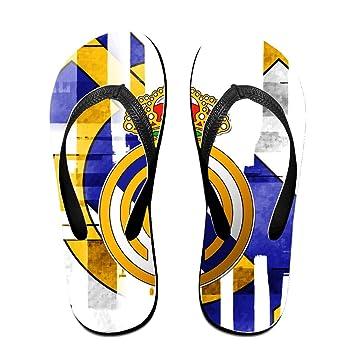 Real Madrid CF de chanclas para hombres mujeres niños niñas, playa Zapatillas: Amazon.es: Deportes y aire libre