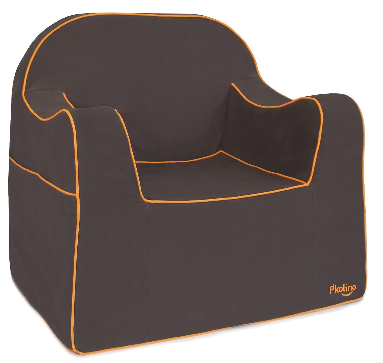amazoncom p'kolino reader chair charcoal toys  games -