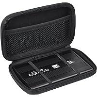 TRIXES Piccola custodia rigida nera EVA HDC2 per disco rigido portatile esterno