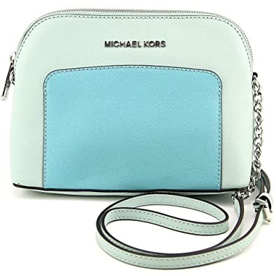 29386479e98d Image Unavailable. Image not available for. Color: Michael Kors Cindy  Pocket Large Dome Crossbody ...