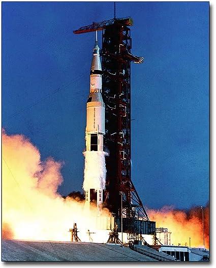 Apollo 11 Saturn V Rocket Launch NASA 8x10 Silver Halide Photo Print