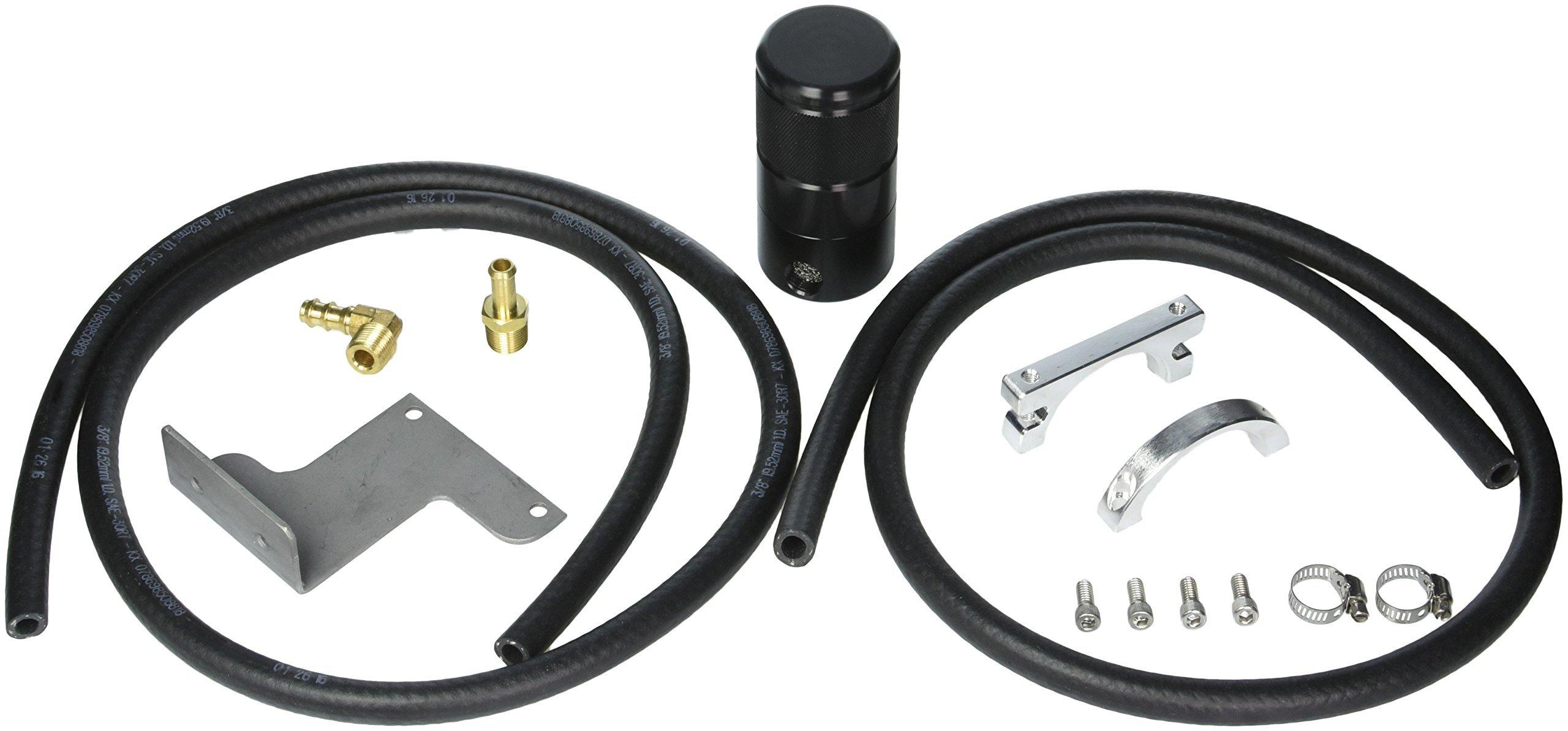 Moroso 85635 Air/Oil Separator, Black