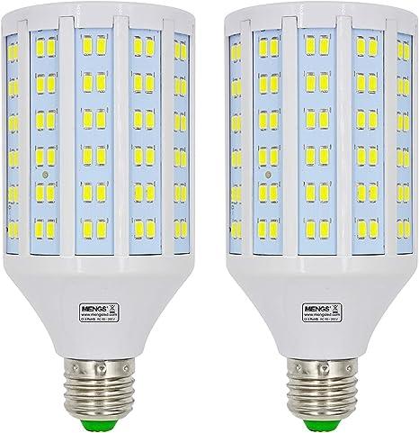 MENGS pack de 2 Bombillas LED E27 25W Lámpara LED (Equivalente ...
