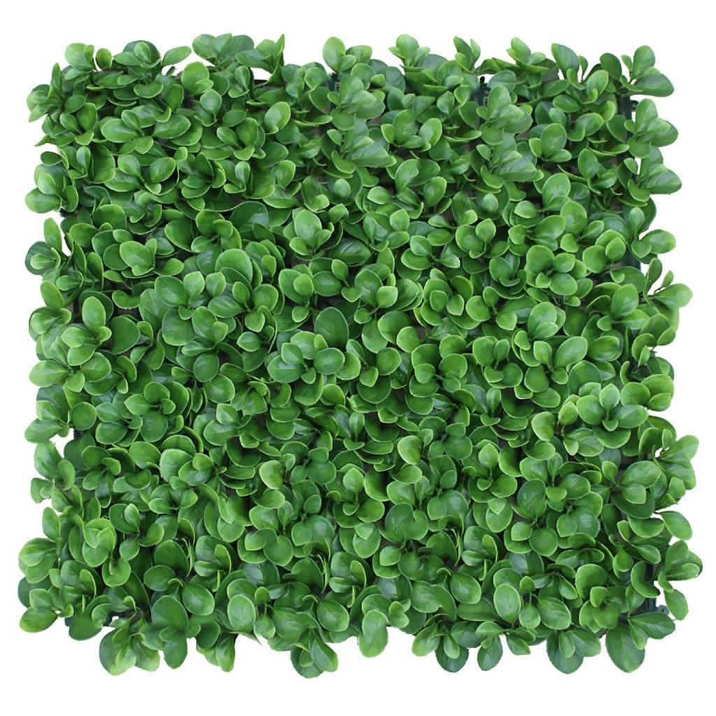 WENZHE 人工 フェイクアイビー 緑の植物のシミュレーション 緑の壁 装飾、 3つのスタイル、 1 * 1m / 50 * 50cm ( 色 : B-50*50cm , サイズ さいず : 4 pieces ) B078LYB41T B-50*50cm 4 pieces