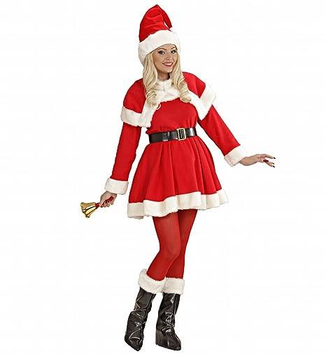Costume Babbo Natale donna babba super lusso mamma  Amazon.it ... 04e98290968