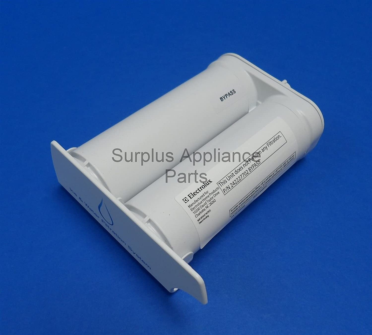Frigidaire Water Filter Bypass for PureSource 2 WF2CB and Pure Advantage EWF2CBPA