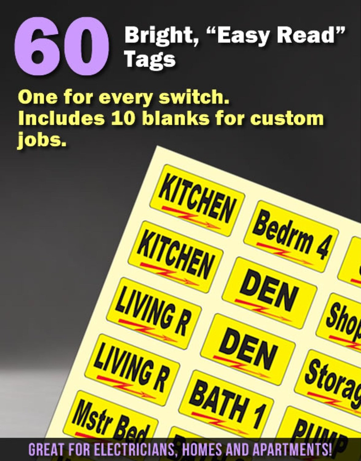 Breaker Box Decals Plus A Assembly Id Labels Tough Vinyl For Blank Residential Fuse Opening Circuit Breakers And Chrome Foil Tagging Numbering Great Home Owners