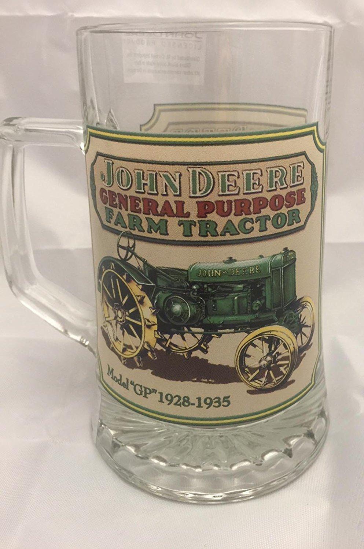 Lid german beer mug hinged lid gaming computer desk ideas - Amazon Com John Deere Licensed Glass 4 L Beer Mug Tractor Beer Mugs Steins