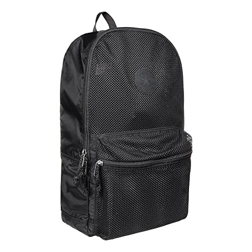 d21499cf4ada Converse Mesh Packable Backpack - Black  Amazon.co.uk  Shoes   Bags