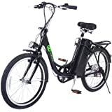 "Goplus 22"" 250W Electric Bicycle Sporting Mountain Bike 36V"