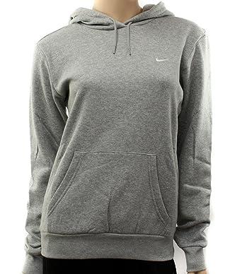 Neuf Nike femme gris Sweat à capuche Hoody pointure L