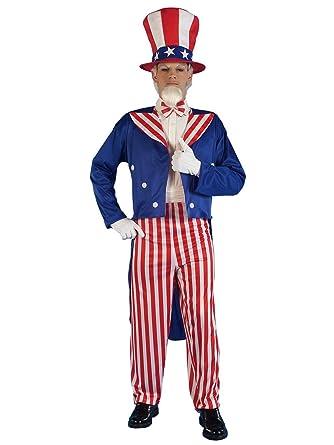 amazon com forum patriotic party uncle sam costume red standard