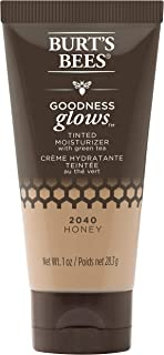 product image for Burt's Bees Goodness Glows Tinted Moisturizer, Rich in Antioxidants, Honey, 1.0 Ounce