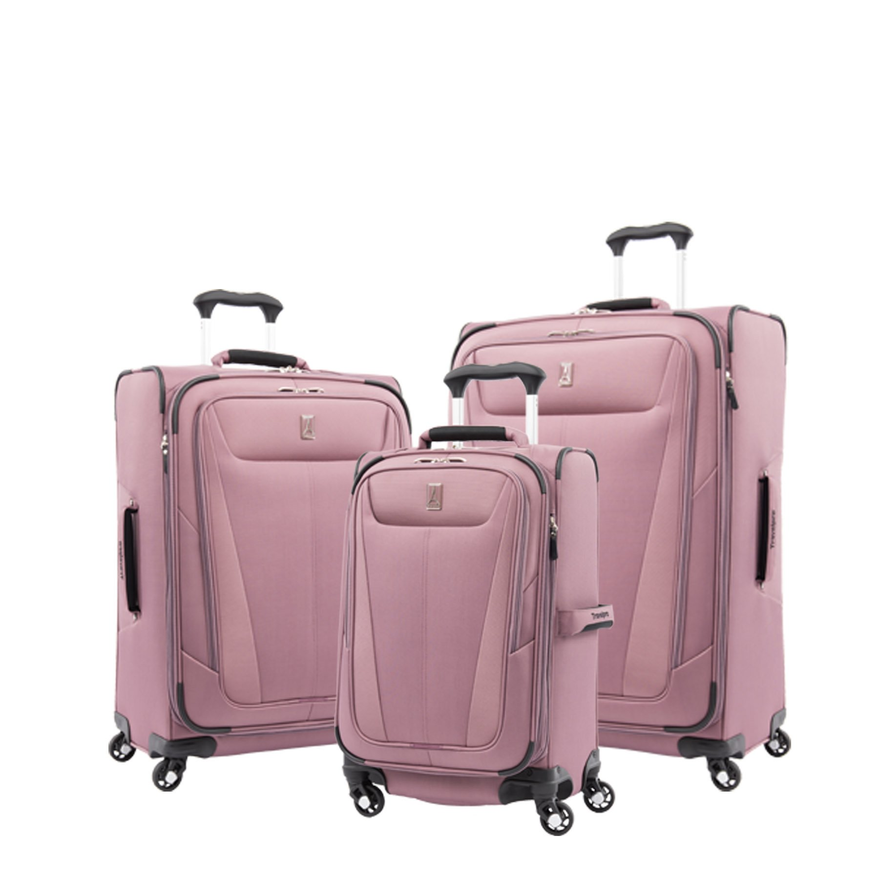 Travelpro Luggage Maxlite 5 | 3-PC Set | 21'' Carry-On, 25'' & 29'' Exp. Spinners (Dusty Rose)