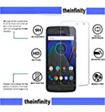 SuperdealsForTheinfinity Moto G5S Plus Screen Guard Tempered Glass Full Scratchless 2.5D Anti QC Pass ED11 Protector (White)