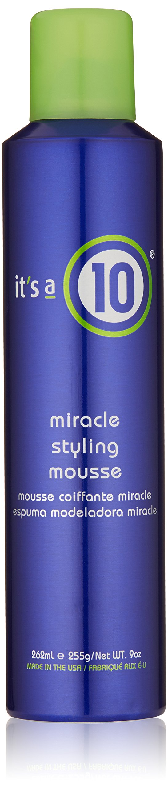 It's a 10 Haircare Miracle Styling Mousse, 9 fl. oz. by It's a 10 Haircare (Image #1)