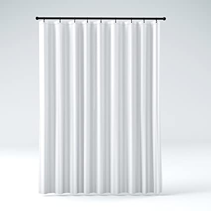 DeLaines Frosted Shower Curtain Liner Kid Safe