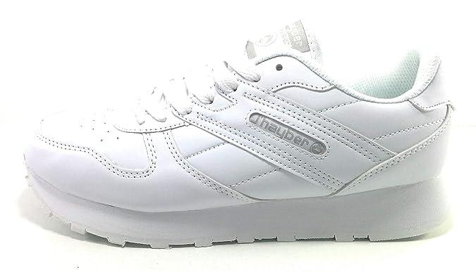 J`Hayber Celote Zapatillas Mujer Clasicas Blancas (38 EU): Amazon ...