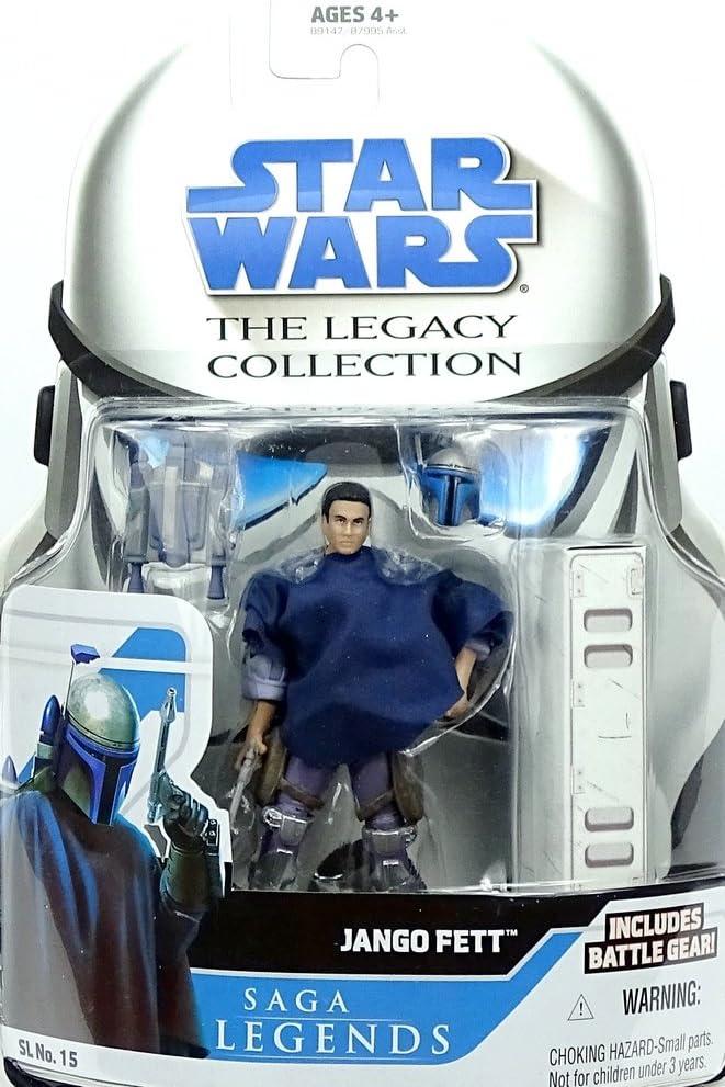 Boba Fett SL09 2012 STAR WARS The Clone Wars TCW Saga Legends MOC