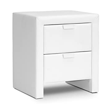 Amazon Baxton Studio Frey Upholstered Modern Nightstand