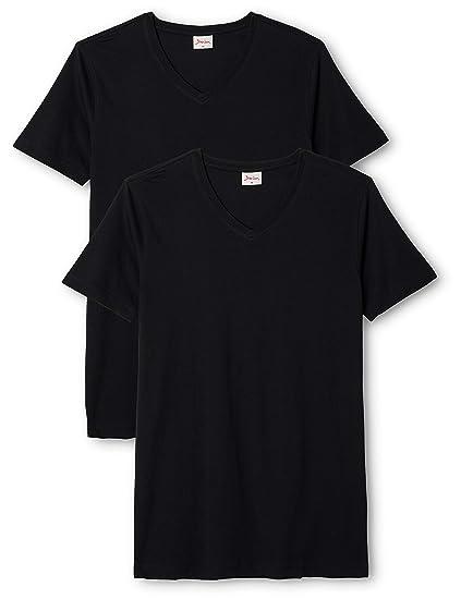 4371215eea4343 Signum Herren Shirt  T-Shirt 2 er Pack 999901911 999  Amazon.de  Bekleidung