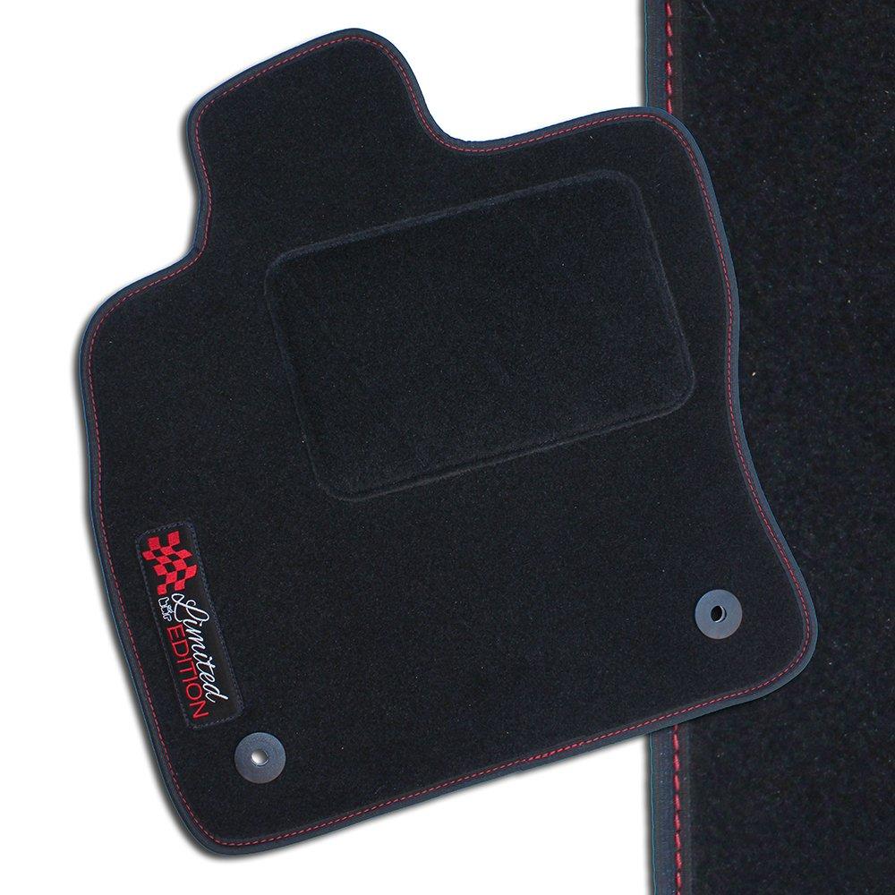 NF Velours schwarz Fußmatten passend für HONDA ACCORD 6.Gen Limo 1997-2002