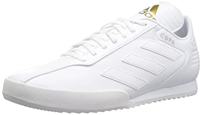best cheap 53baa bae44 adidas Originals Mens Copa Super Soccer Shoe WhiteGold Metallic, ...