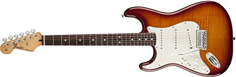 Fender 0144621552 Stratocaster Plus - Guitarra eléctrica para diapasón (madera de palisandro, para zurdos
