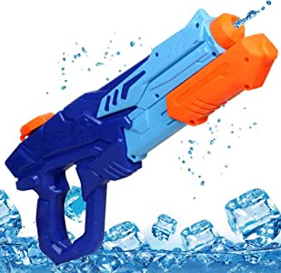 MOZOOSON Toys for 3 Year Old Boys - Water Gun, Water Gun for Kids, Outdoor Toys Super Squirt Guns Water Soaker Blaster Pool Toys for Water Fighting, Water Toys for Boys Girls Age 3 4 5