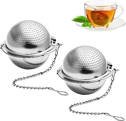LOVEXIU Teesieb Fur Tasse,Teeei Sieb Edelstahl,Teefilter Teefilter F/üR Losen Tee,Tea Infuser,Teeei F/üR Tasse,EIN Teesieb Aus Einem Sehr Feinen Edelstahlgewebe